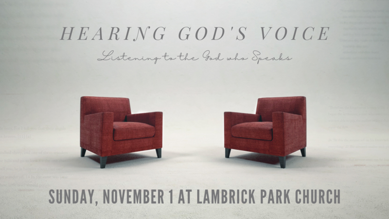 Scripture and the Voice of God