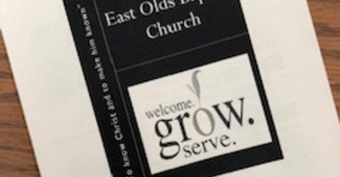 November 18, 2018 Church Bulletin image