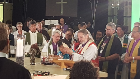 """Indigenous Peoples Sunday"" Eucharist"