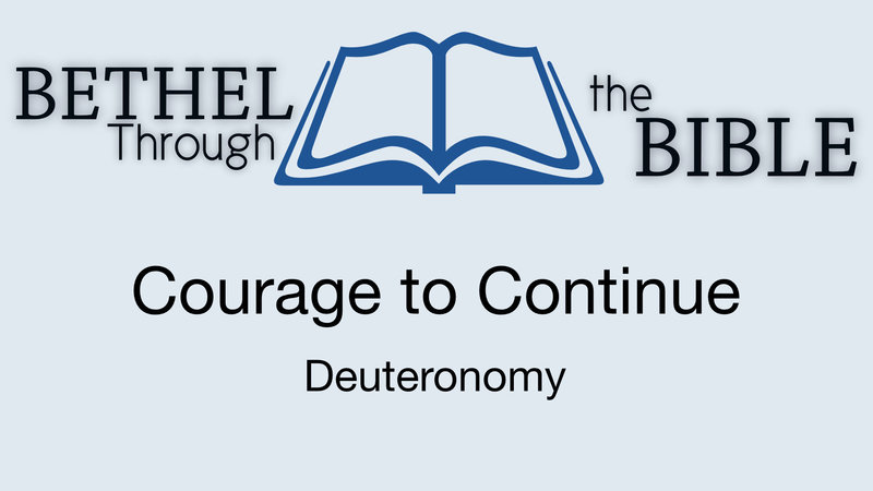 Courage to Continue
