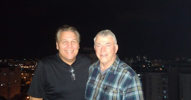 First night for Hank and Rolfe in Israel... image