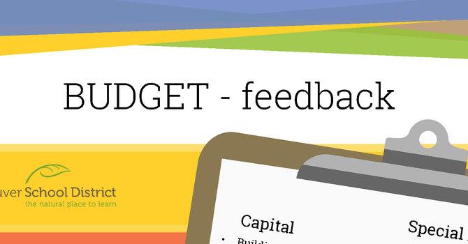 Budget Feedback image