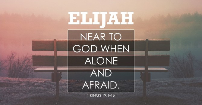 Near To God When Alone And Afraid
