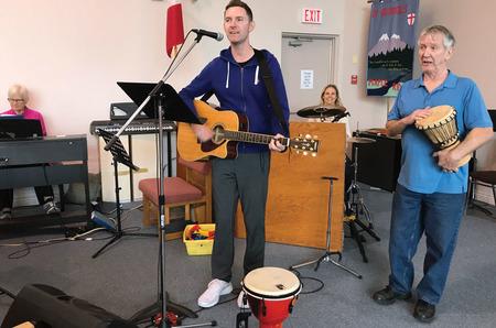 New Sunday Evening Worship at St George, MR