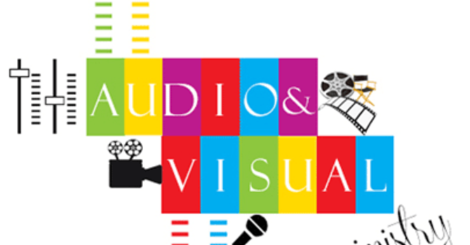 Ministry Opportunity: Audio/Visual Team image