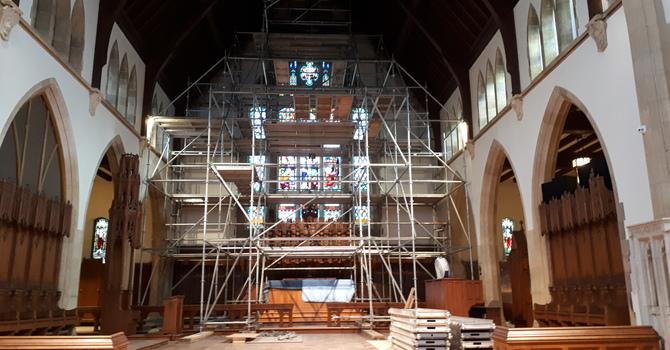 Restoration 122 begins ... image