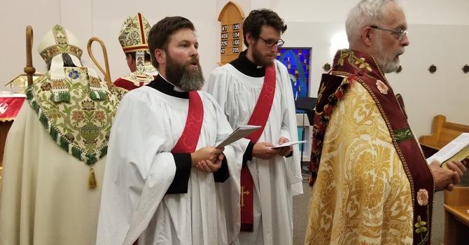 Ordination to the Priesthood of Deacons Jordan Draper & Dr. David Butorac - St. Luke the Evangelist, October 18th,  2019 image