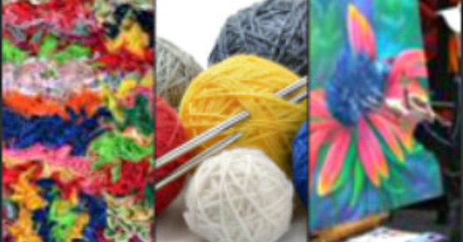 DROP IN ARTS & CRAFTS CLUB-Wed's:  1-3 p.m.