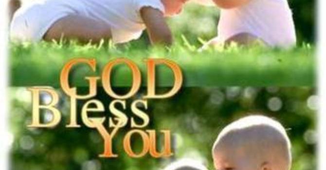Speaking Blessings image
