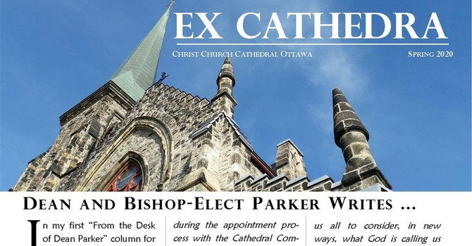 Cathedral Newsletter - Ex Cathedra