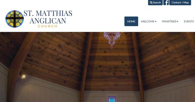 St Matthias Launches New Website image