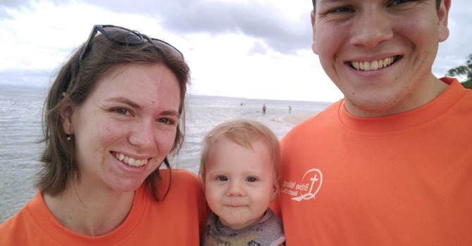 Jeremiah & Julia join the Bribie Family image