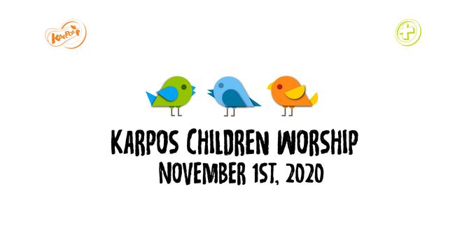 201101 Elementary Sunday Worship