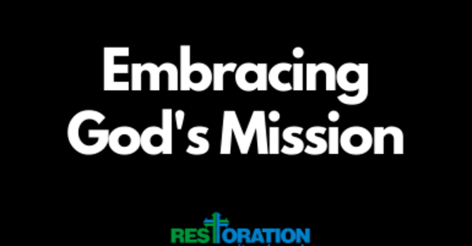 Embracing God's Mission