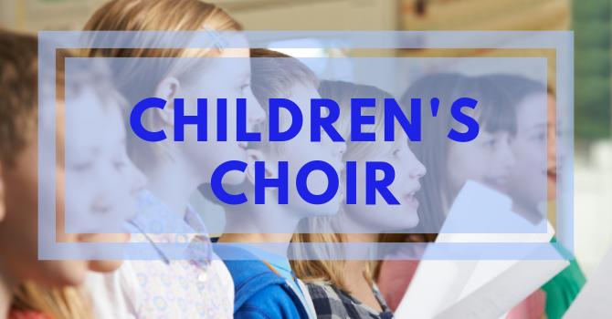 Children's Choir Welcoming New Members image