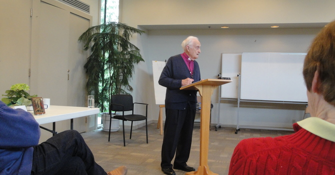 Archbishop Douglas Hambidge at St. Stephen's