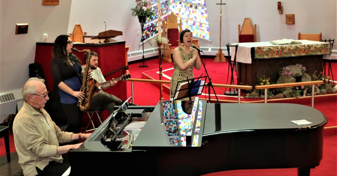 Clare Twiddy Trio at Jazz Vespers