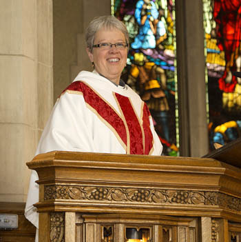Archdeacon Pat Johnston