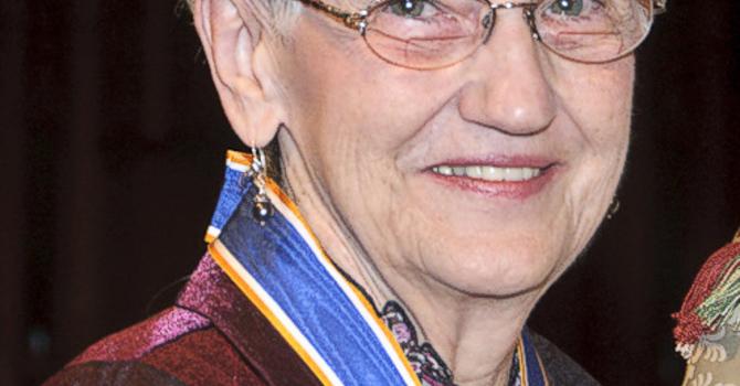 Inez Joyce French (nee Caverhill), ODNW