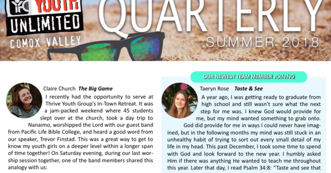 Quarterly | Summer 2018