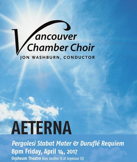 Vancouver Chamber Choir - Good Friday Concert