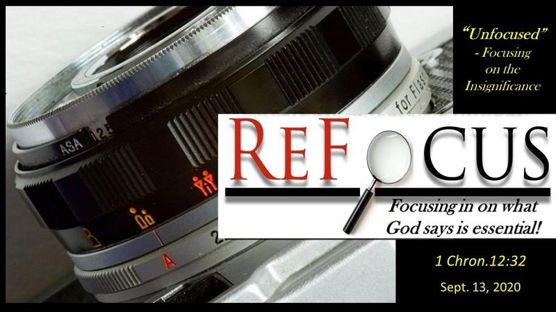 ReFocus 01 - Unfocused