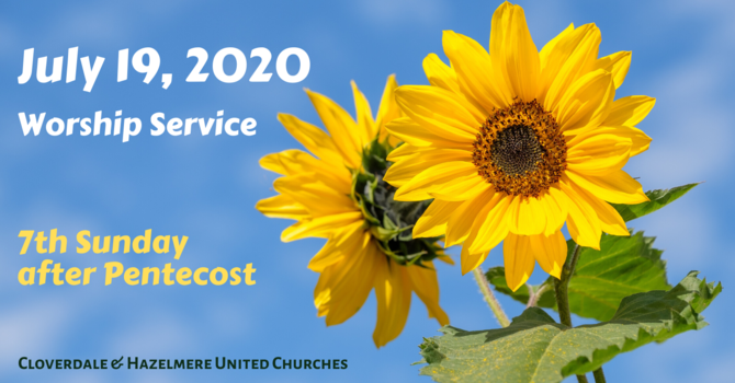July 19, 2020 Worship Service image