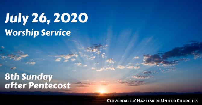 June 26, 2020 Worship Service image
