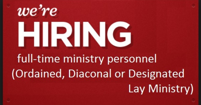 Seeking full-time ministry    image