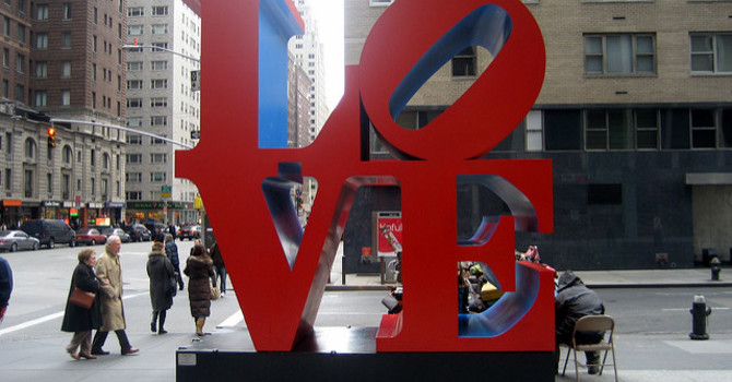 Love is active image