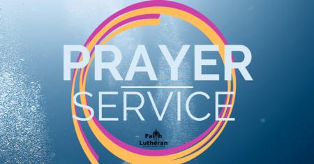 Wednesday Evening Prayer Services