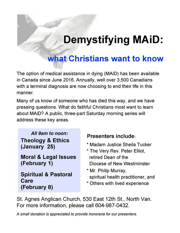 Demystifying Medical Assistance in Dying (MAiD)