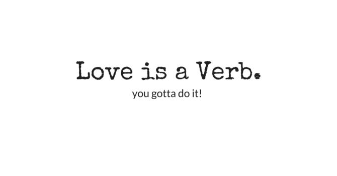 """""""Set Apart: Love is a Verb"""""""