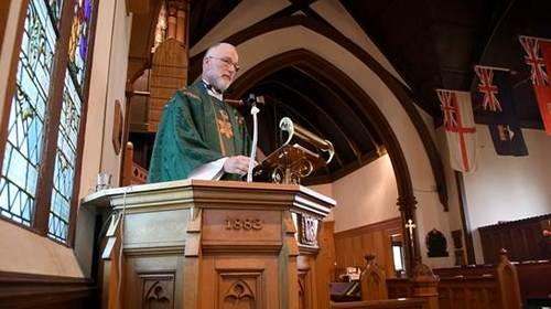 Lt Cdr The Rev. Canon Doug Friesen, CD