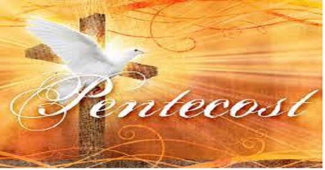 May 20, 2018 Pentecost Sunday image