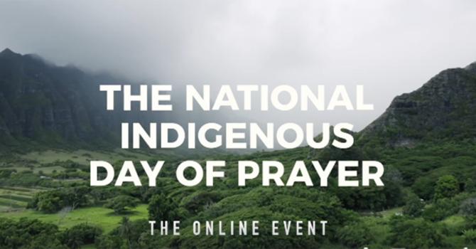 National Indigenous Day of Prayer image