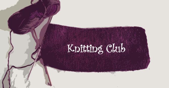 Knitting Club image