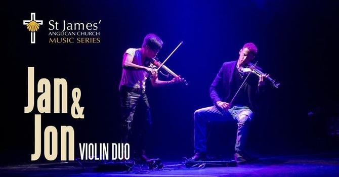 Jan & Jon Violin Duo   November 18, 2018 image