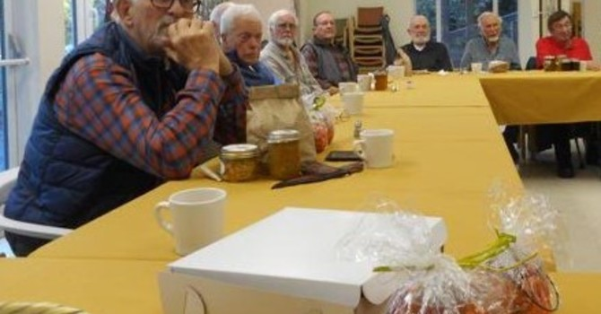 News from the Men's Breakfast Gathering image