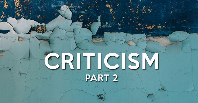 Criticism: Part 2 image