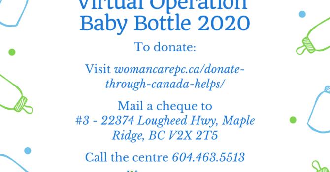 Operation Baby Bottle 2020 image
