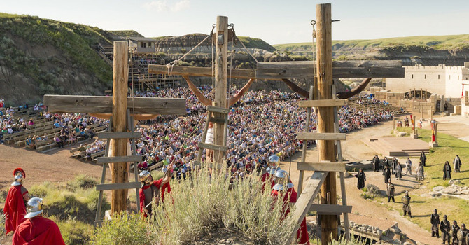 Summer Bus Trip To Badlands Passion Play