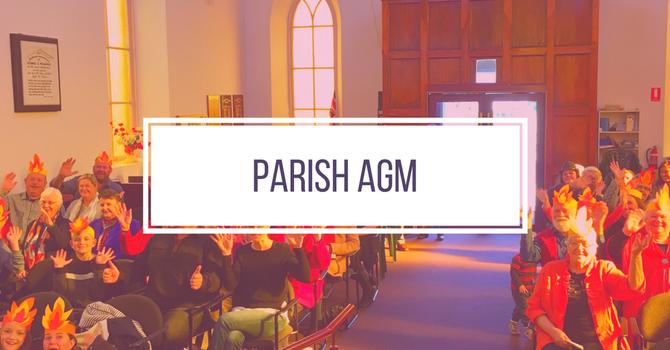 Parish AGM Sunday Sept 30  image