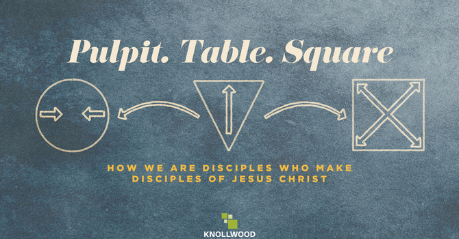 Pulpit. Table. Square. image