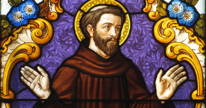Following St. Francis image