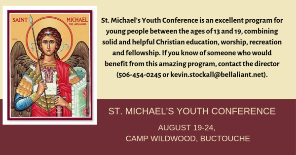 Still time to sign up for St. Michael's Youth Conference!