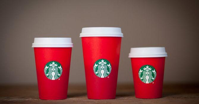 Starbucks and God image