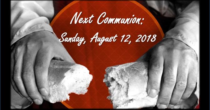 Next  Communion image