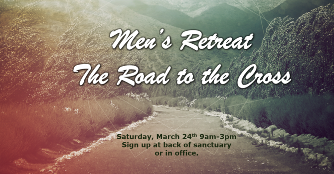 Men of Faith Retreat image