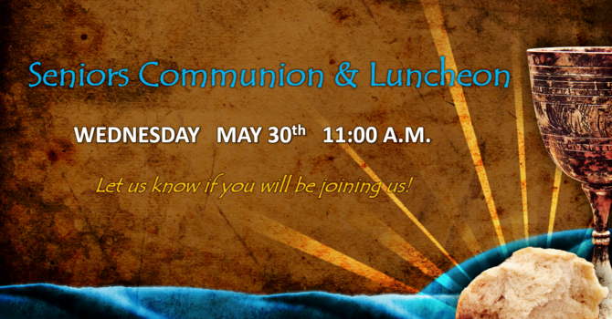 Senior's Communion & Luncheon image